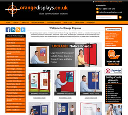 Orange Displays